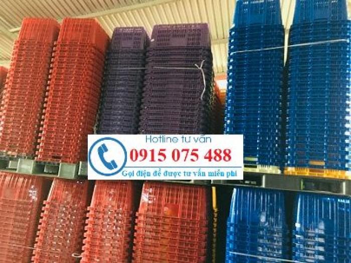 Sóng nhựa công nghiệp - sọt nhựa hở công nghiệp giá rẻ - 0915075488