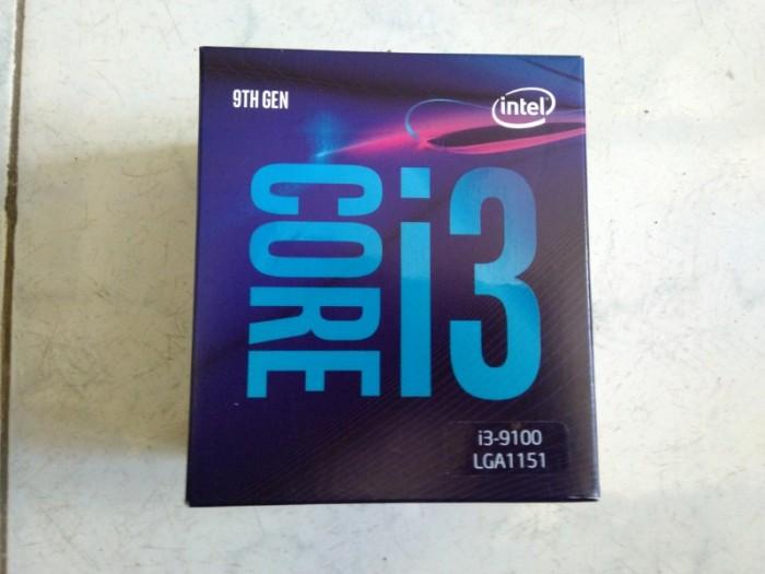 Chip I3 9100 nguyên hộp, nguyên seal cần bán!0