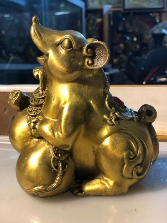 Chuột ôm túi tiền phong thủy, quà tặng 20200