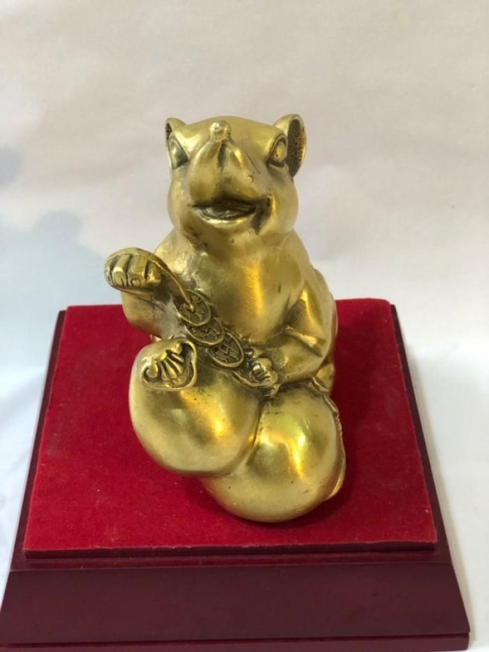Chuột ôm túi tiền phong thủy, quà tặng 20202