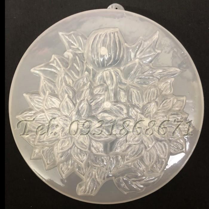 Khuôn rau câu nhánh hoa cúc đôi – Mã số L90
