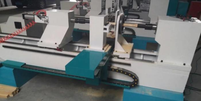 Báo giá máy tiện gỗ CNC 1 đầu và 2 đầu tự động giá rẻ