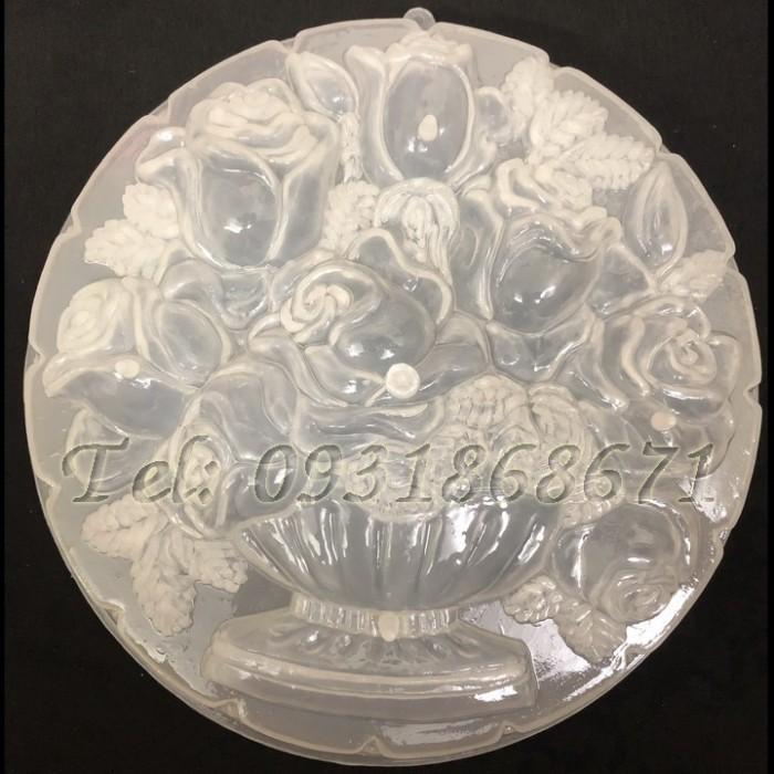 Khuôn rau câu bình hoa hồng – Mã số LA60