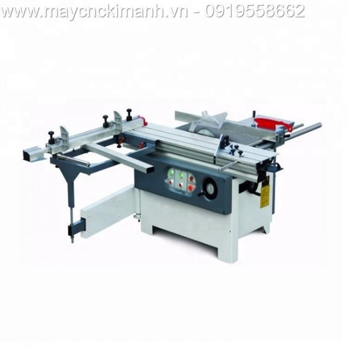 Máy cưa bàn trượt 2 lưỡi / loại mini máy chế biến gỗ giá rẻ6