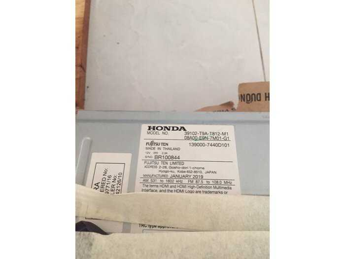 Đầu Dvd Fujitsu xe Honda City1
