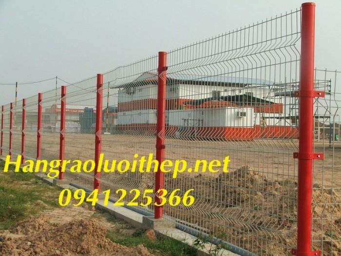 Hàng rào lưới thép, hàng rào sơn tĩnh điện tại Hà Nội