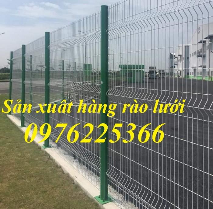 Hàng rào lưới thép mạ kẽm, hàng rào lưới thép sơn tĩnh điện tại Hà Nội