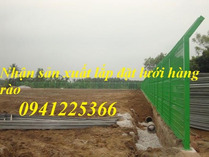 Hàng rào lưới thép hàn, hàng rào mạ kẽm, hàng rào sơn tĩnh điện1