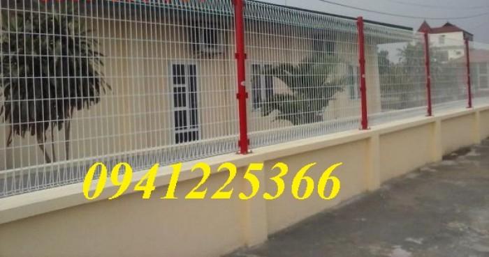 Hàng rào lưới thép hàn, hàng rào mạ kẽm, hàng rào sơn tĩnh điện2