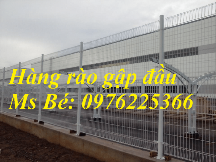 Hàng rào lưới thép hàn, hàng rào mạ kẽm, hàng rào sơn tĩnh điện4