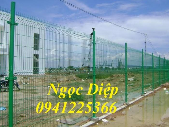 Hàng rào lưới thép hàn, hàng rào mạ kẽm, hàng rào sơn tĩnh điện5