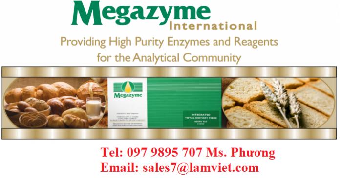 Test kits Megazyme Ireland (Ngành thực phẩm, thức ăn chăn nuôi, lên men, rượu, sữa, bia...)4
