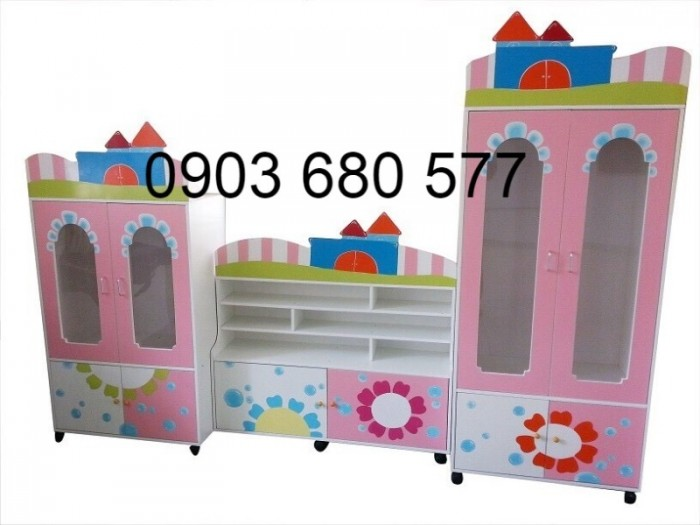 Cần bán tủ gỗ, tủ nhựatrẻ em cho trường mầm non giá rẻ, uy tín, chất lượng nhất8