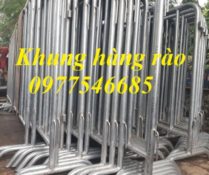 Nơi Sản xuất hàng rào di động , khung hàng rào chắn , hàng rào sự kiện giá rẻ0