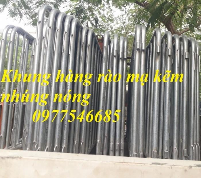 Nơi Sản xuất hàng rào di động , khung hàng rào chắn , hàng rào sự kiện giá rẻ4