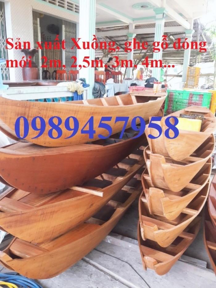 Thuyền gỗ ba lá dài 2m, 3m, 4m, 5m, thuyền gỗ trang trí1