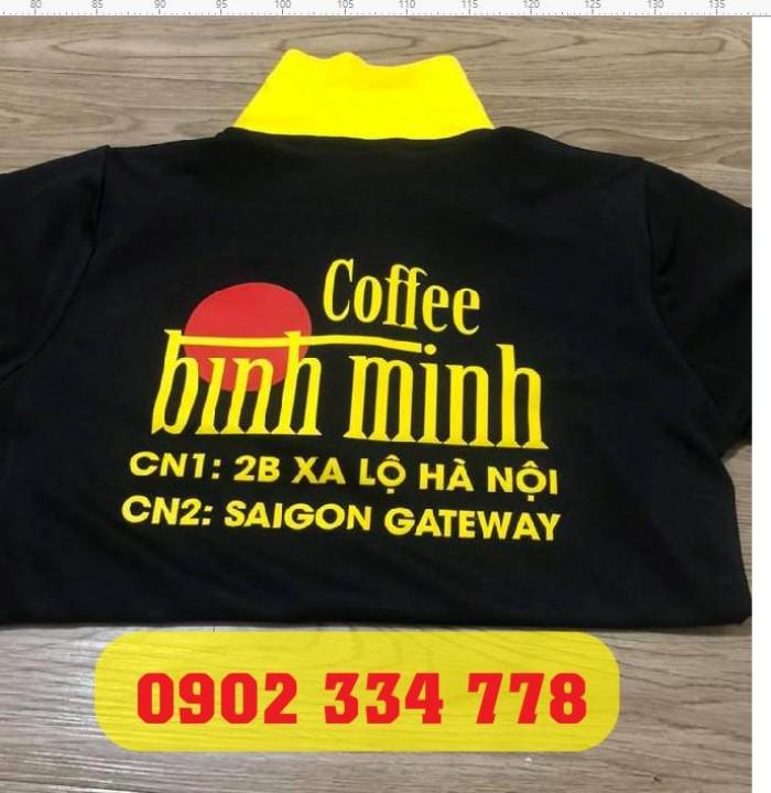 chuyên may in áo thun đồng phục quán cafe nhanh2