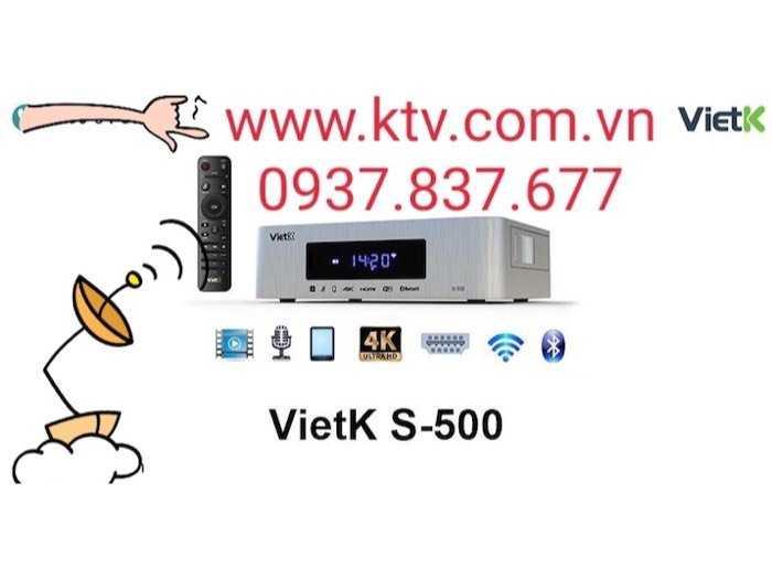 Đầu karaoke giá rẻ VietK s-500 4.000 Gb4