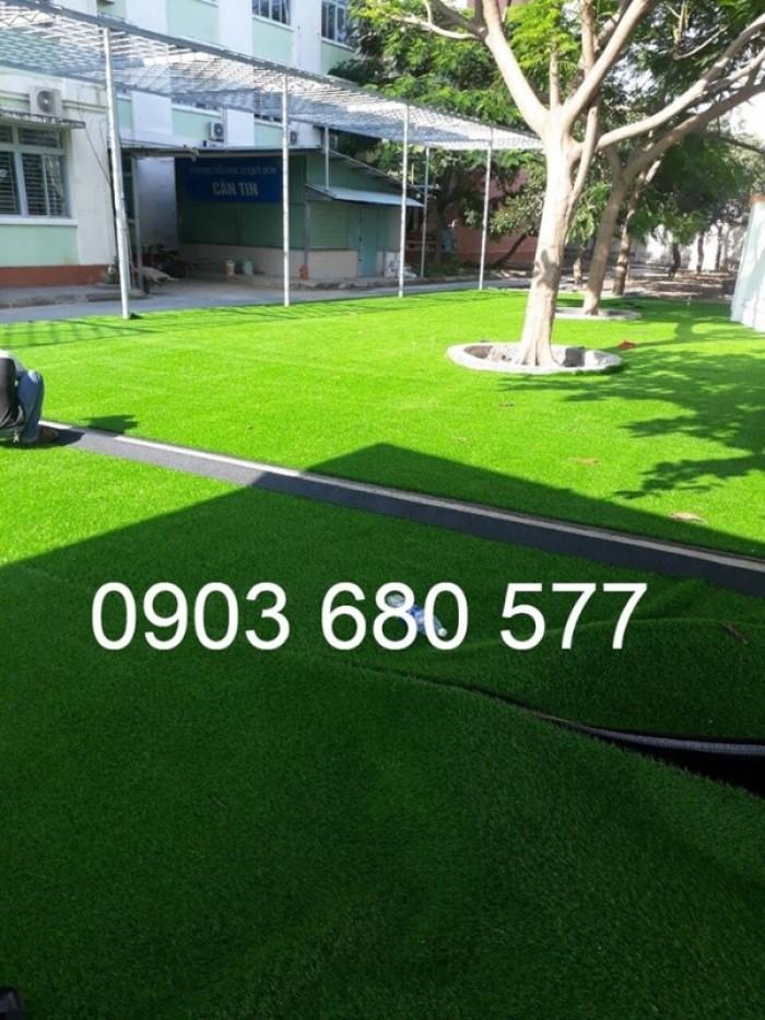 Chuyên bán cỏ nhân tạo cho trang trí trường mầm non, sân chơi, sân bóng, sân golf23