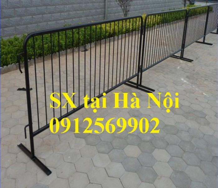 Chuyên sản xuất khung hàng rào di động, hàng rào sự kiện tại Hà Nội1