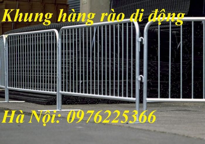 Chuyên sản xuất khung hàng rào di động, hàng rào sự kiện tại Hà Nội2