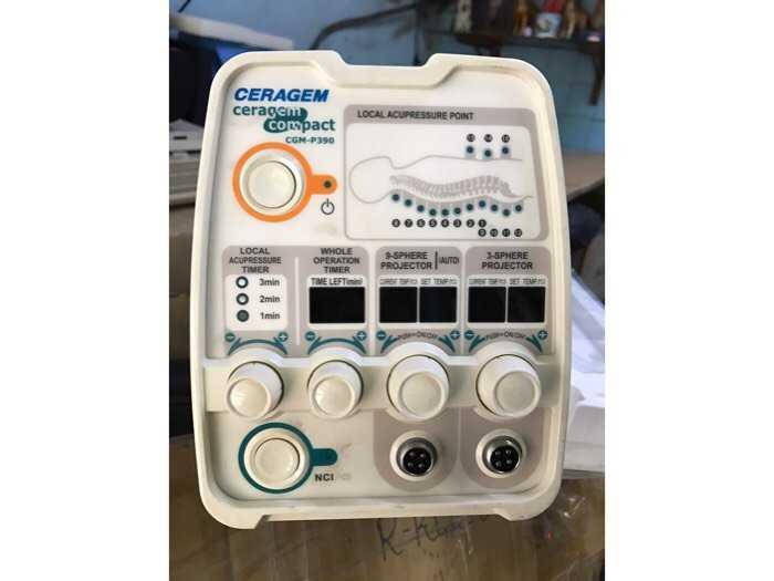 máy massage nhiệt CERAGEM P3902