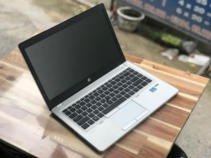 Laptop Ultrabook Hp Folio 9480m , i5 4310U 8G SSD180 Đẹp zin 100% giá rẻ0