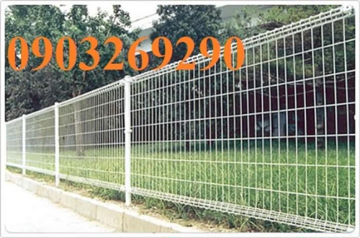Hàng rào mạ kẽm sơn tĩnh điện D4  , D5, D6 ( 50*100, 50*150,50*200, 100*150,100*200) , hàng rào bẻ tam giác , hàng giào2