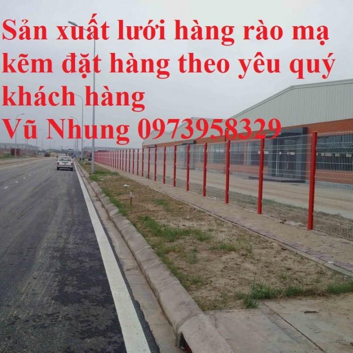 Hàng rào mạ kẽm sơn tĩnh điện D4  , D5, D6 ( 50*100, 50*150,50*200, 100*150,100*200) , hàng rào bẻ tam giác , hàng giào5