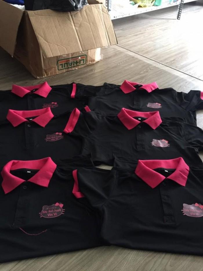 xưởng may áo thun đồng phục shop mỹ phẩm3