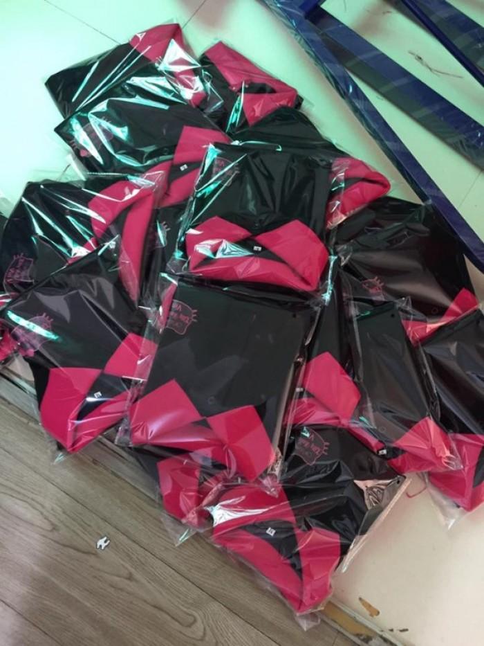 xưởng may áo thun đồng phục shop mỹ phẩm2