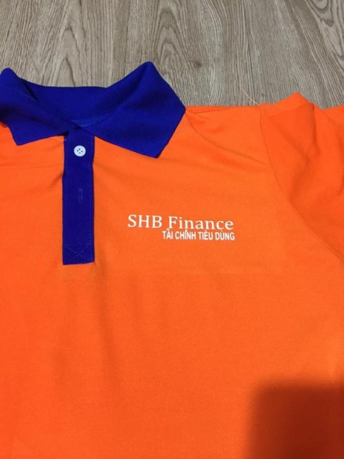 áo thun đồng phục ngân hàng shb1