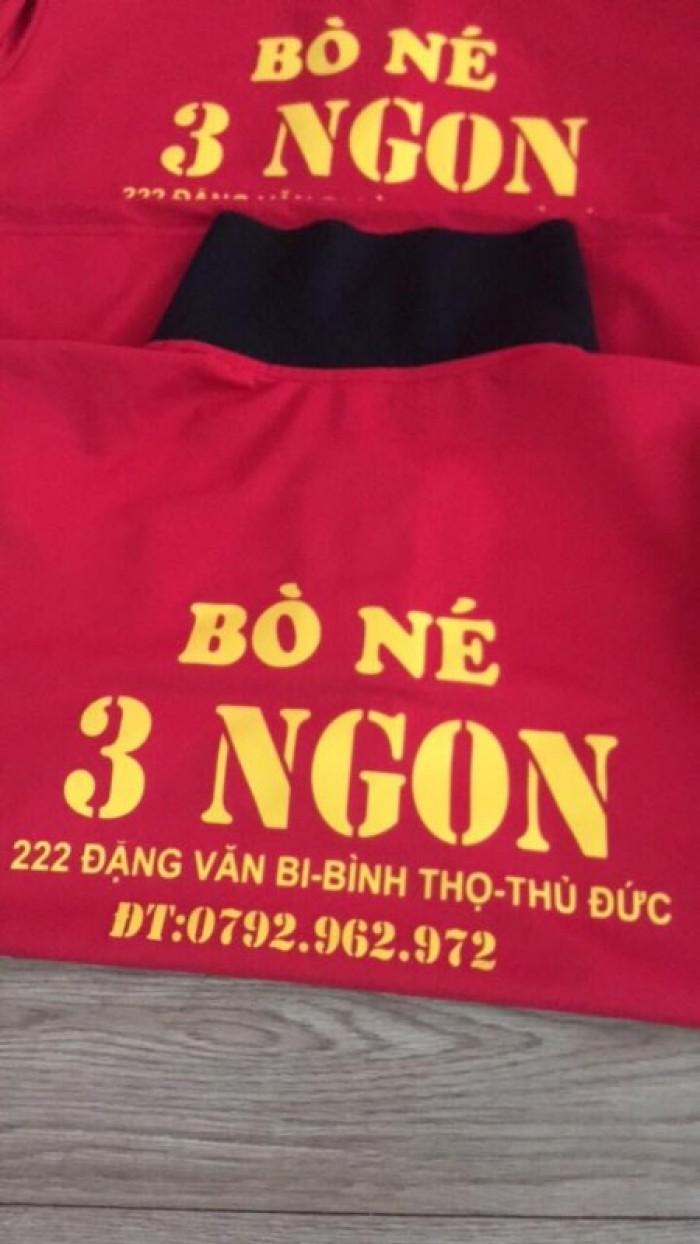áo thun đồng phục bò né 3 ngon siêu rẽ1