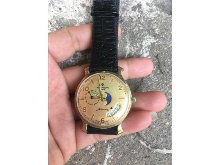 Đồng hồ tự động mạ vàng hàng sưu tầm0