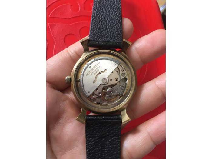 Đồng hồ tự động mạ vàng hàng sưu tầm3