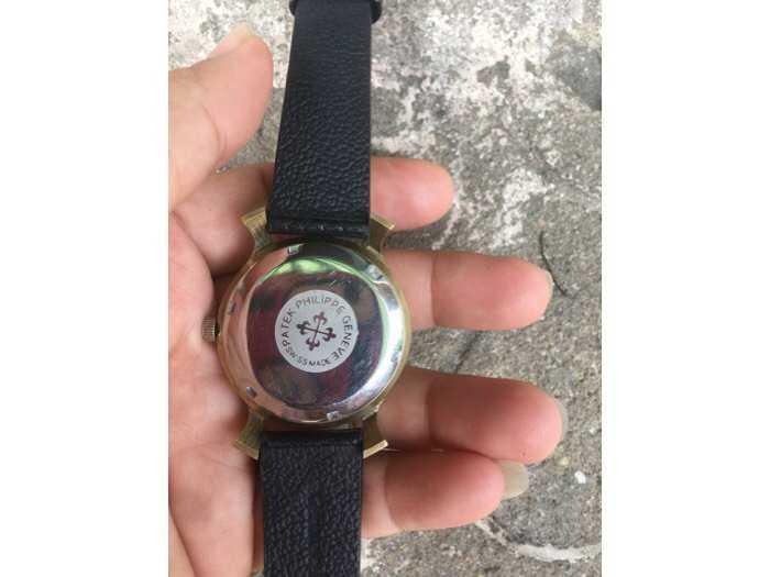 Đồng hồ tự động mạ vàng hàng sưu tầm4