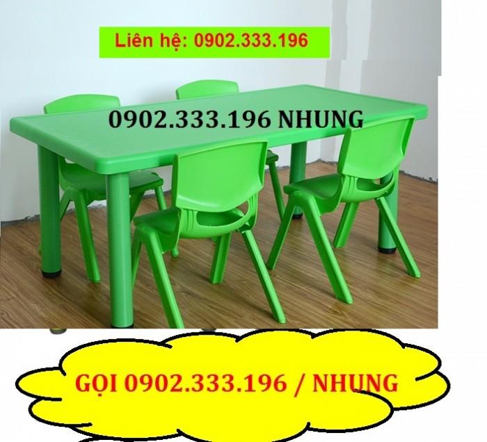Bàn nhựa cho bé rẻ nhất, bàn nhựa mầm non giá rẻ11