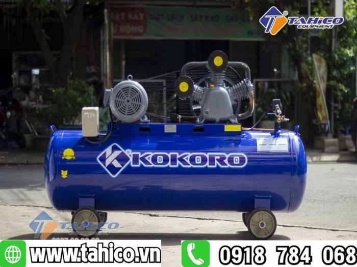 Máy nén khí 2 cấp dây đai 7,5hp kokoro1