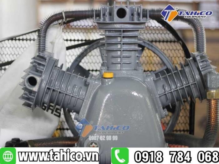 Máy nén khí 2 cấp dây đai 7,5hp kokoro3
