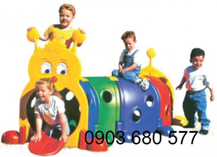 Chuyên bán đồ chơi hang chui, cung chui vận động cho trẻ em mầm non1