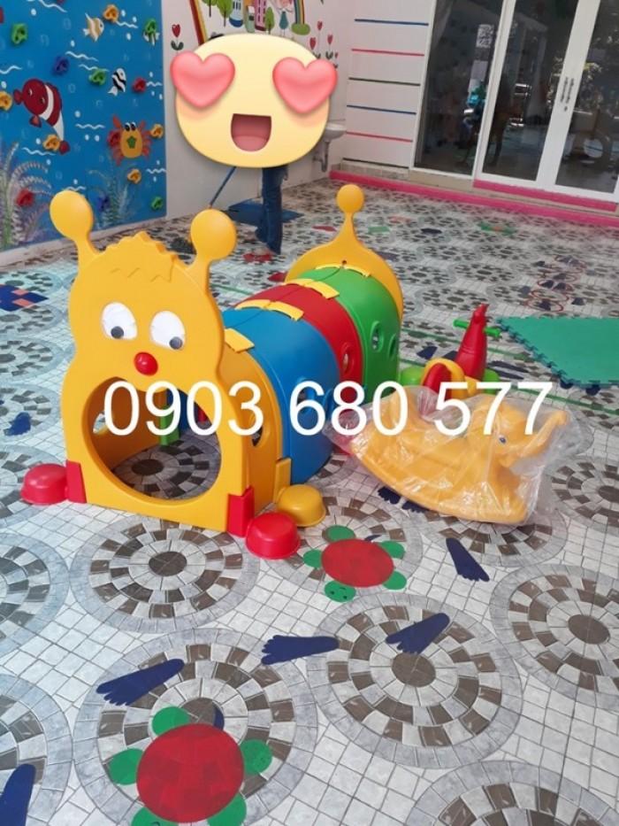 Chuyên bán đồ chơi hang chui, cung chui vận động cho trẻ em mầm non10