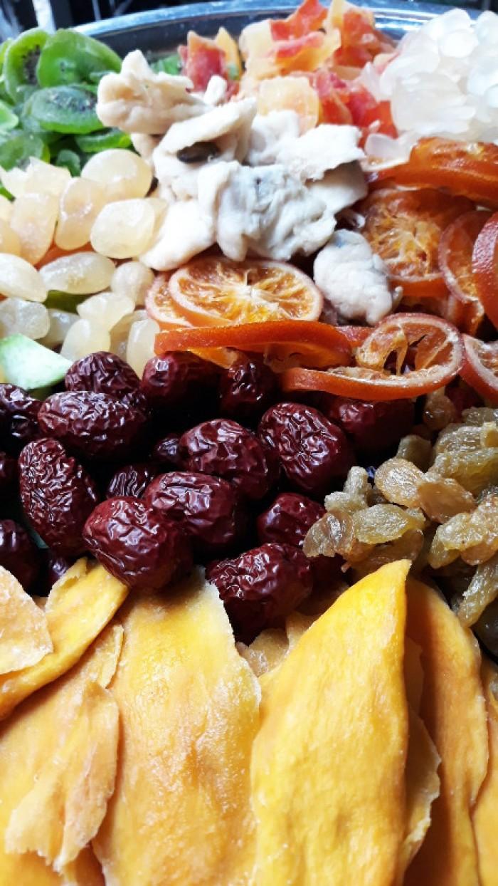 Hủ 500gr Trái cây sấy dẻo mix thập cẩm cao cấp - Food By Mama6