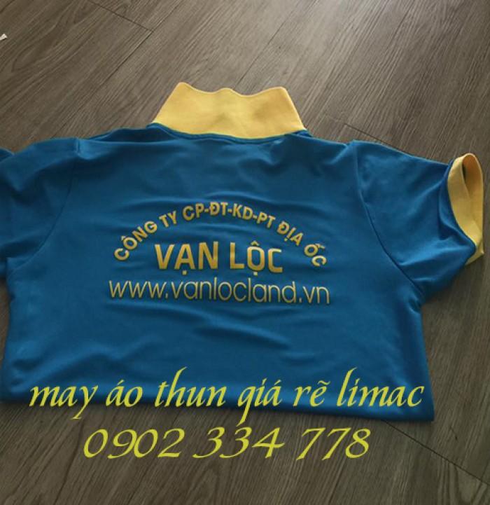 may áo thun đồng phục công ty bất động sản giá rẽ2
