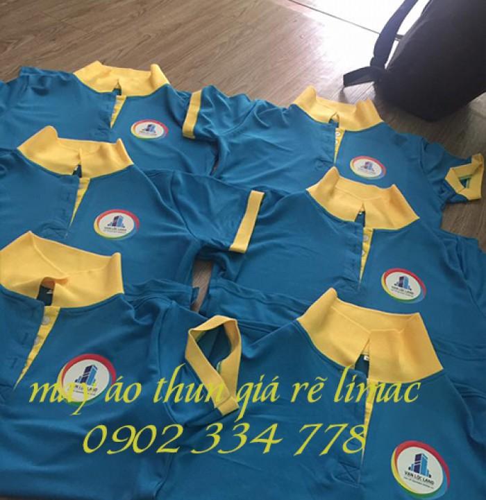 may áo thun đồng phục công ty bất động sản giá rẽ1