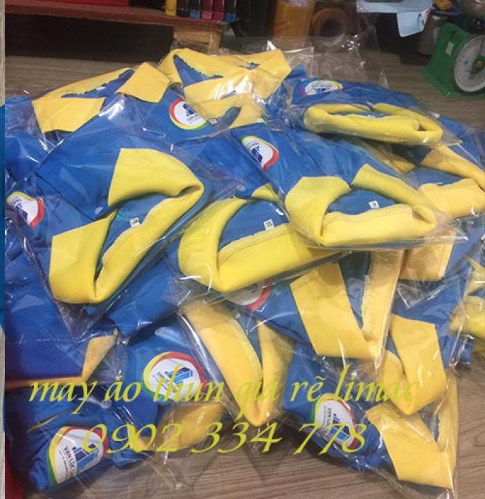 may áo thun đồng phục công ty bất động sản giá rẽ3