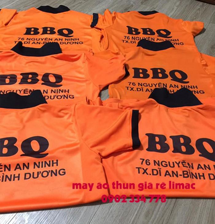 công ty may áo thun đồng phục BBQ0