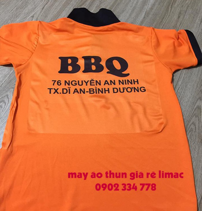 công ty may áo thun đồng phục BBQ3