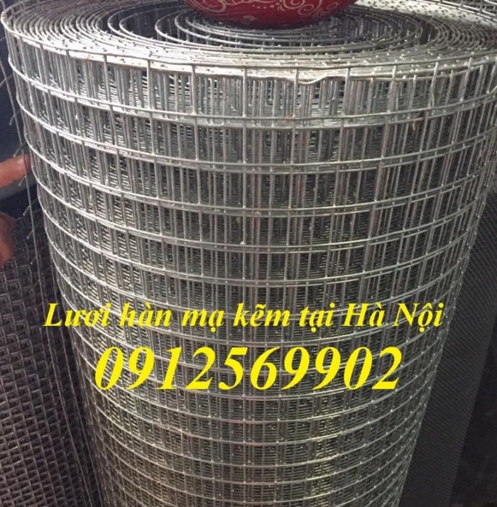 Lưới thép hàn,lưới thép hàn mạ kẽm D1, D2, D3, D4,D52