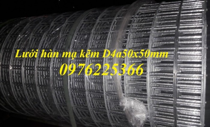 Lưới thép hàn,lưới thép hàn mạ kẽm D1, D2, D3, D4,D57