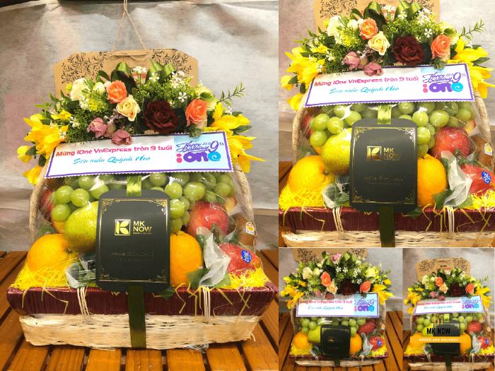 Giỏ trái cây tặng sinh nhật cơ quan - FSNK1151